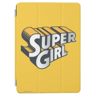 Supergirl Silver and Orange Logo iPad Air Cover