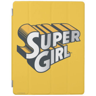 Supergirl Silver and Orange Logo iPad Cover
