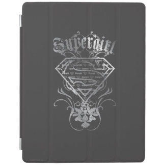 Supergirl Silver Logo iPad Cover