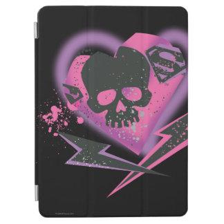 Supergirl Skulls and Lightning iPad Air Cover