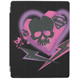 Supergirl Skulls and Lightning iPad Cover