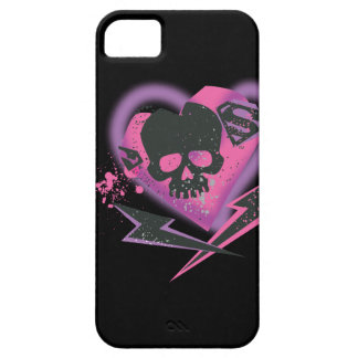 Supergirl Skulls and Lightning iPhone 5 Cover