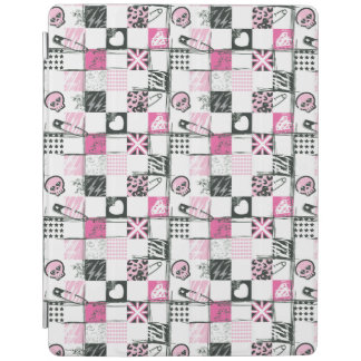 Supergirl Skulls and Pins Pattern iPad Cover
