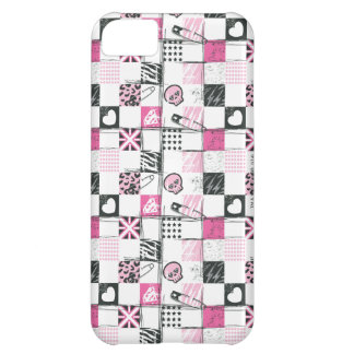 Supergirl Skulls and Pins Pattern iPhone 5C Case