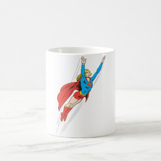 Supergirl Soars High Coffee Mug