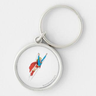 Supergirl Soars High Key Ring