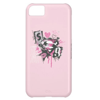 Supergirl Spills and Scribbles Collage iPhone 5C Case