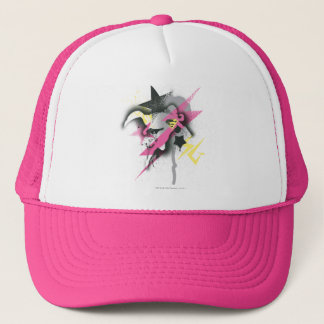 Supergirl Spray Paint Trucker Hat