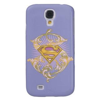 Supergirl Starbust Logo Galaxy S4 Case