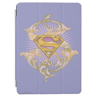 Supergirl Starbust Logo iPad Air Cover