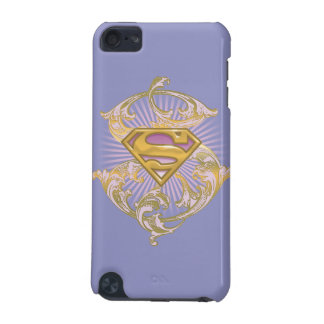 Supergirl Starbust Logo iPod Touch 5G Cases