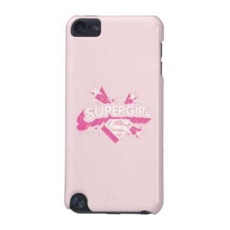 Supergirl Stars and Logo iPod Touch 5G Case
