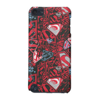 Supergirl Stary Red Pattern iPod Touch 5G Covers