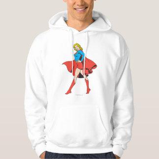 Supergirl Strikes a Pose Hoodie