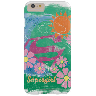 Supergirl Sun and Love Barely There iPhone 6 Plus Case