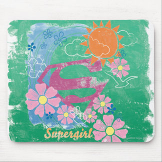 Supergirl Sun and Love Mouse Mat