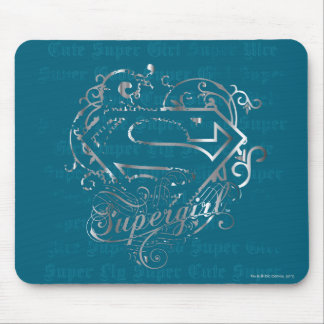 Supergirl Super Fly Super Cute Mouse Pad
