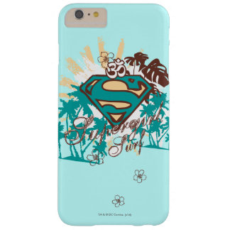 Supergirl Surf Barely There iPhone 6 Plus Case