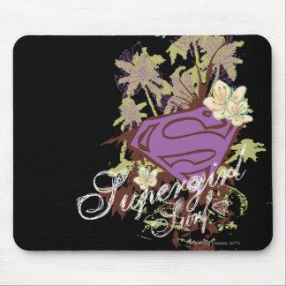 Supergirl Surf Logo Mouse Mat