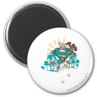 Supergirl Surf Magnet