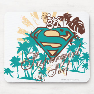 Supergirl Surf Mouse Mat