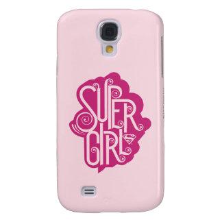 Supergirl Swirl 1 Galaxy S4 Case