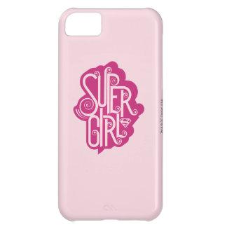 Supergirl Swirl 1 iPhone 5C Case