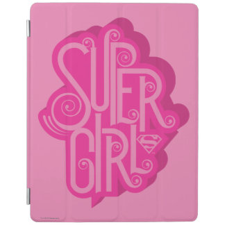 Supergirl Swirl 2 iPad Cover