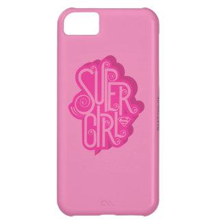 Supergirl Swirl 2 iPhone 5C Case