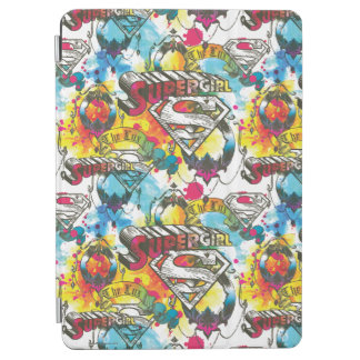 Supergirl The Lux Pattern iPad Air Cover