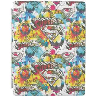 Supergirl The Lux Pattern iPad Cover
