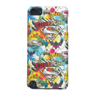 Supergirl The Lux Pattern iPod Touch (5th Generation) Covers