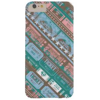 Supergirl Ticket Pattern Blue Barely There iPhone 6 Plus Case
