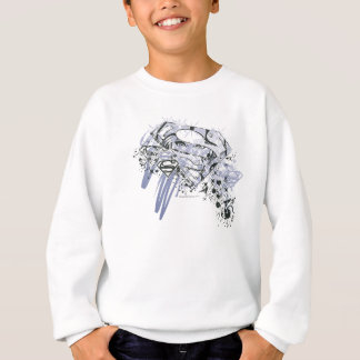 Supergirl Totally Awesome Sweatshirt