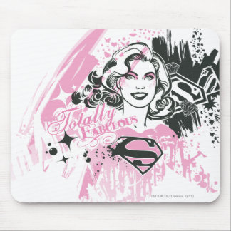 Supergirl Totally Fabulous Mouse Mat