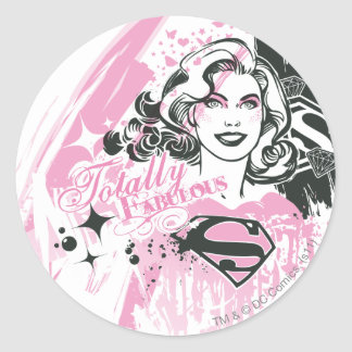 Supergirl Totally Fabulous Sticker