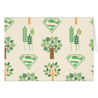 Supergirl Trees Card