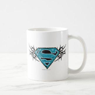 Supergirl Tribal Pattern Logo Coffee Mug