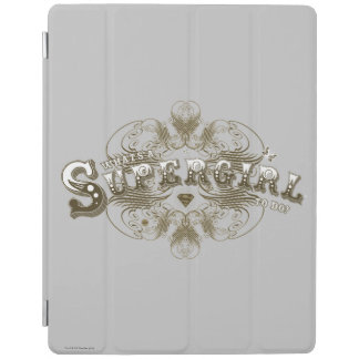 Supergirl What's a Girl to Do Brown iPad Cover