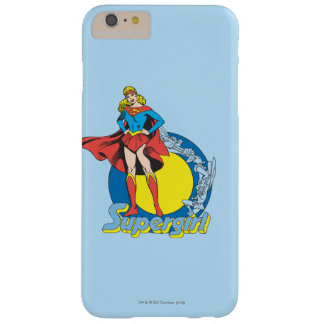 Supergirl with Logo Barely There iPhone 6 Plus Case