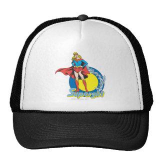 Supergirl with Logo Cap