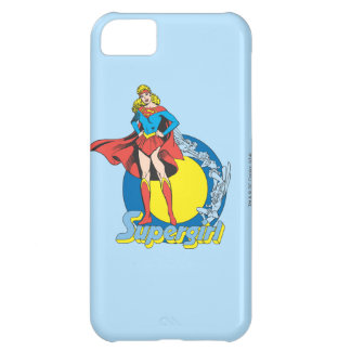 Supergirl with Logo iPhone 5C Case