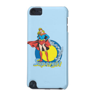 Supergirl with Logo iPod Touch 5G Cases