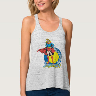 Supergirl with Logo Tank Top