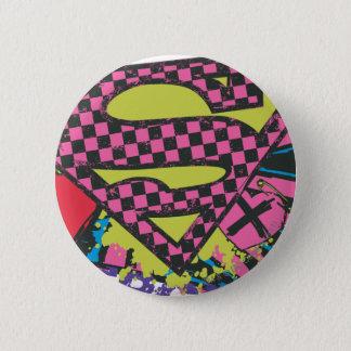 Supergirl X 6 Cm Round Badge
