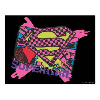 Supergirl X Postcard
