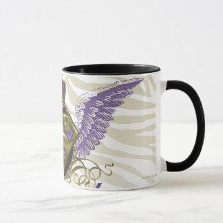 Supergirl Zebra Print Mug