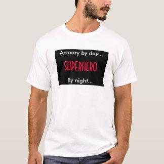 Superhero Actuary T-Shirt