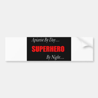 Superhero Apiarist Bumper Sticker