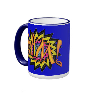 Superhero BAM! Mug